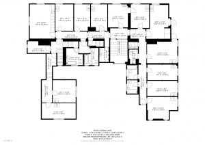 First Floor, Floor Plan Middlefield Manor