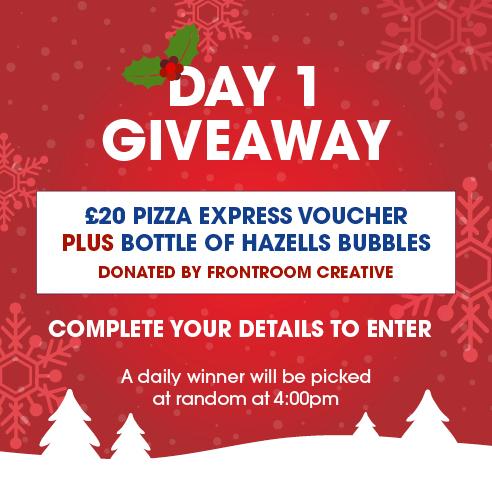 12 Days Of Christmas Day 1 Hazells Chartered Surveyors