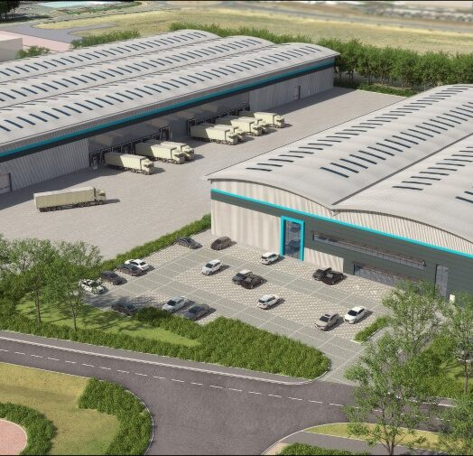 Two speculative units and 76,822 sq ft pre-let to Hermes announced at Suffolk Park