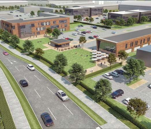 Plans unveiled for Aldi foodstore, Innovation Centre and Retail Kiosks at Suffolk Park