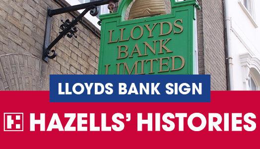 LLOYDS BANK SIGN, BURY ST EDMUNDS