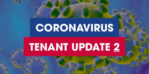 Coronavirus Tenants Update 2