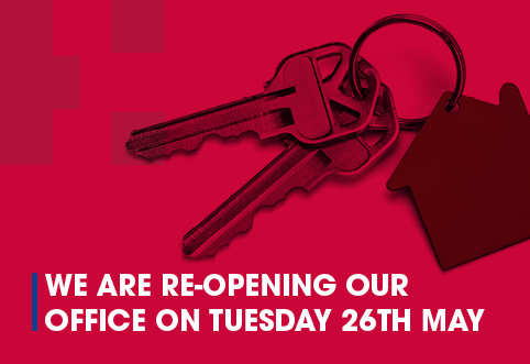 Open for Business – Office Reopening – Tuesday 26th May