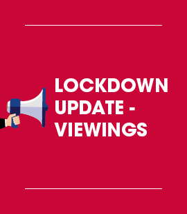 LOCKDOWN UPDATE – We are open for viewings