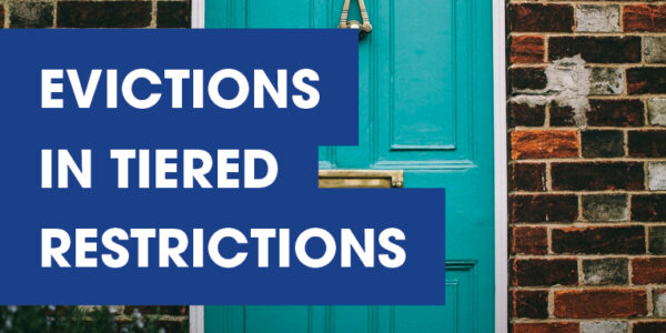 Evictions in Tiered Restrictions